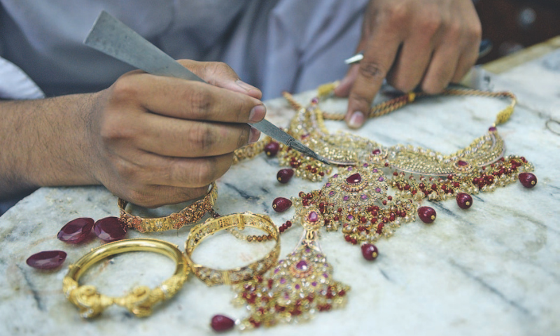 Poor tax compliance in gold and precious stone sectors is causing huge losses to the national exchequer, said a report released by the Federal Board of Revenue's Directorate General Intelligence and Investigation Inland Revenue. — Dawn/File