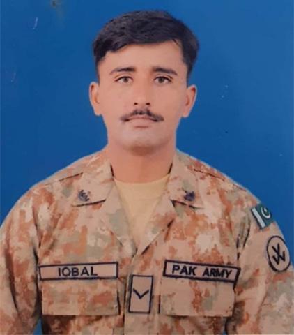 LANCE Naik Muhammad Iqbal.
