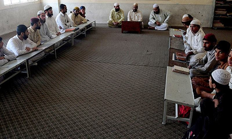 The Khyber Pakhtunkhwa government on Sunday ordered closure of all religious seminaries throughout the province till further orders. — AFP/File