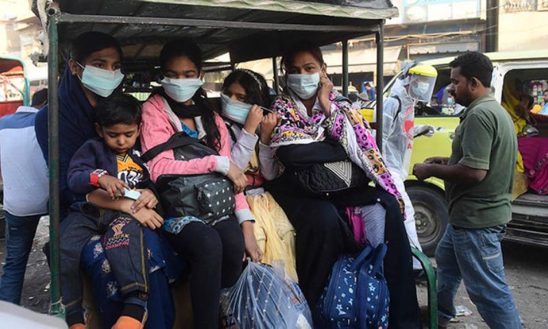 کورونا وائرس: ملک میں 41 روز بعد یومیہ کیسز کی سب سے کم تعداد