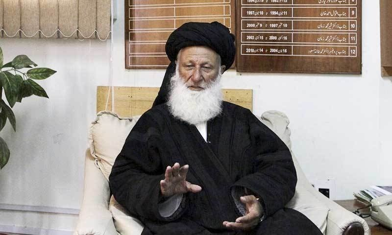Former Islamic Ideological Council chairman and senior JUI-F leader Maulana Mohammad Khan Sherani claimed he had always been against one-man rule in the JUI and its transformation into a hereditary party. — File photo