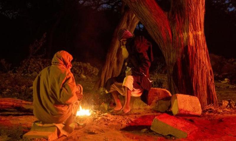 شدید سردی میں بھی بھارتی کسانوں نے اپنا احتجاج جاری رکھا ہوا ہے