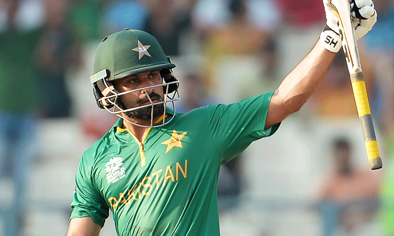 Mohammad Hafeez bagged 415 runs in the outgoing year, more than any other batsman in T20Is. — AFP/File