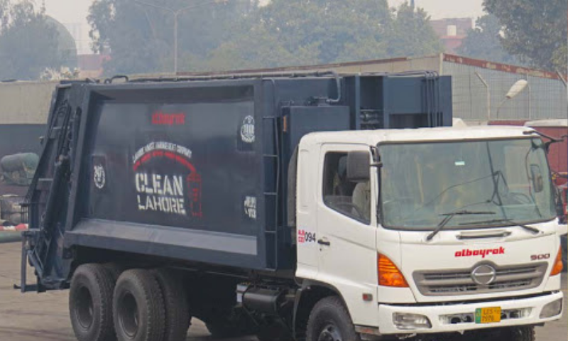 A truck of the Turkish contractor Albayrak is seen this file picture. — Photo courtesy: Albayrak website