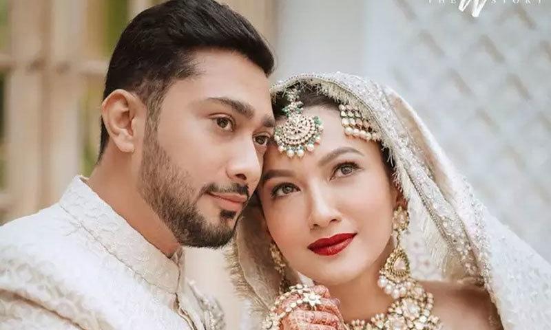 دونوں کی شادی کی تقریبات کچھ دن قبل ہی شروع ہوئی تھیں—فوٹو: انسٹاگرام