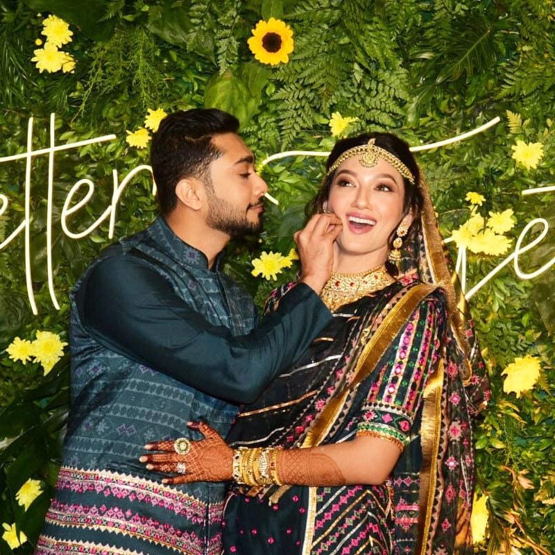 دونوں کی شادی کی تقریبات کی تصاویر خوب وائرل ہوئیں—فوٹو: انسٹاگرام