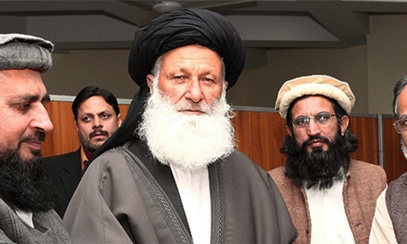 Senior JUI-F leader Maulana Mohammad Khan Sherani had criticised party chief Maulana Fazlur Rehman recently. ─ CII website/File