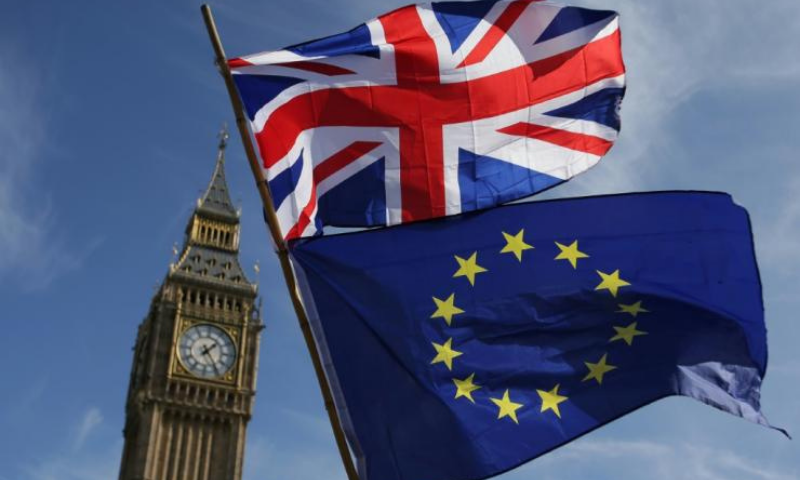 Britain is set for a new chapter on Friday after securing a hard-fought post-Brexit trade deal with the European Union. — AFP