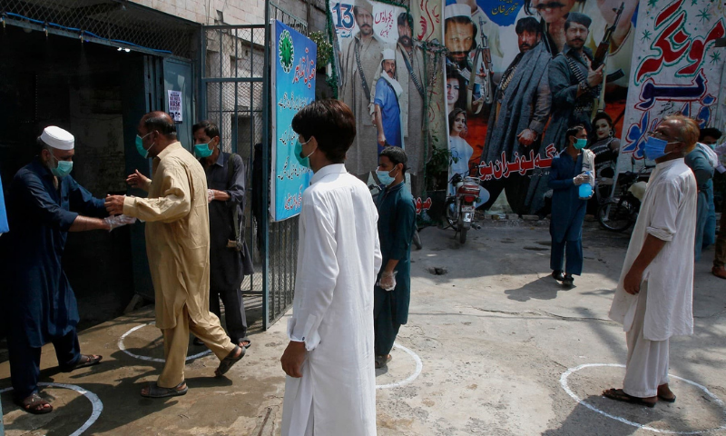With the coronavirus cases and deaths on the rise in the provincial capital, the district administration imposed smart lockdown in seven more areas of Peshawar on Friday. — AP/File