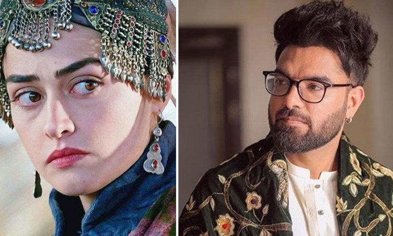 ترک اداکارہ کو پاکستانی اداکار کی والدہ پیش کیے جانے پر سوشل میڈیا پر چرچے کیے جا رہے ہیں——فائل فوٹو: فیس بک/ اسکرین شاٹ