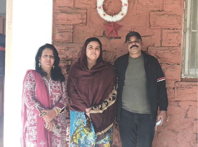 Pastor Ghazala, Rita and Raja | Madeeha Syed