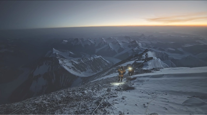 Climbing Everest in the dark, *The Ghosts Above*
