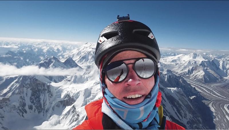 Adrian Ballinger near the top, 'Breathtaking: K2 The World's Most Dangerous Mountain'