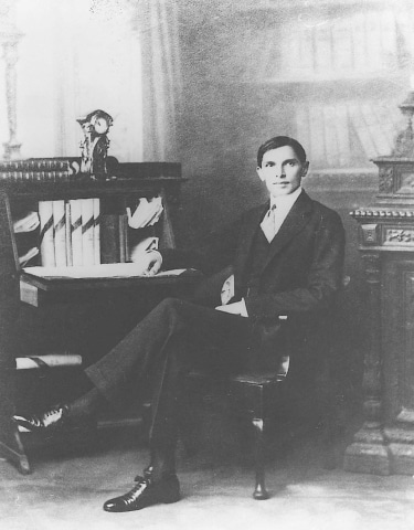 The ever-elegant Mohammad Ali Jinnah as a young and successful barrister.