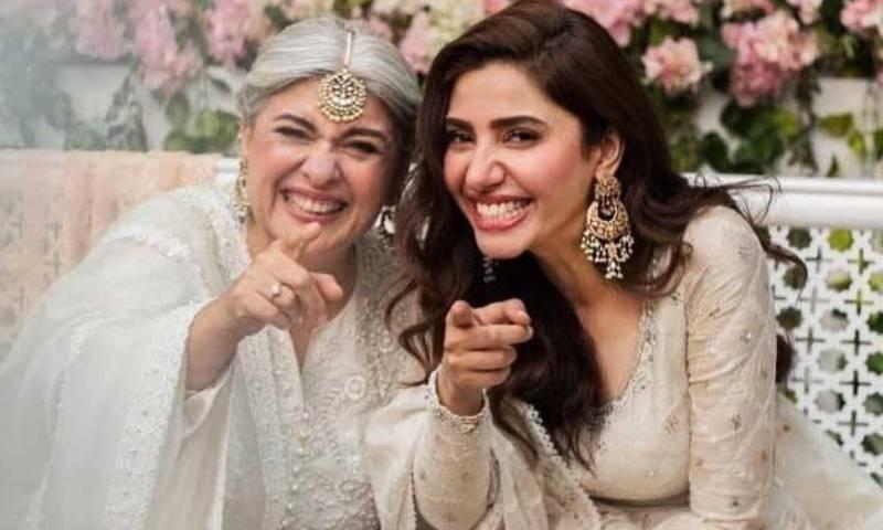 مرینہ خان کی سالگرہ پر ماہرہ خان کا محبت بھرا پیغام