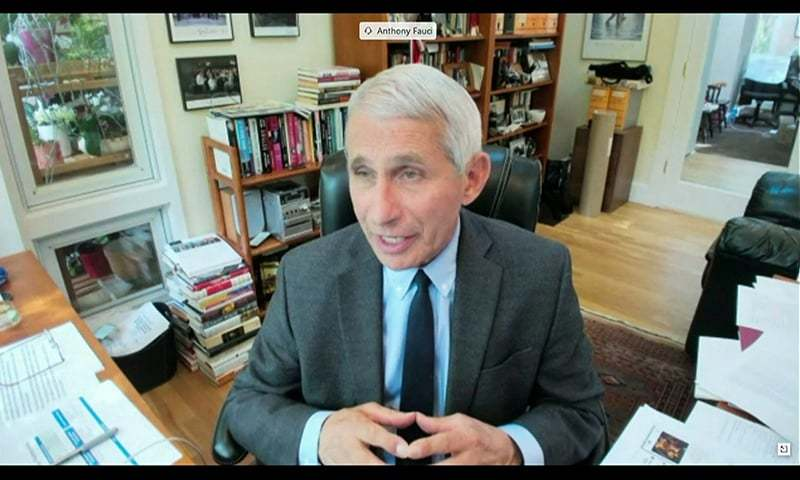 Top US government scientist Anthony Fauci warned the worst of the pandemic may be yet to come. — Reuters