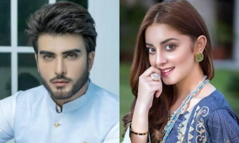 عمران عباس نے علیزے شاہ سے شادی کی خبروں کو افواہ قرار دے دیا