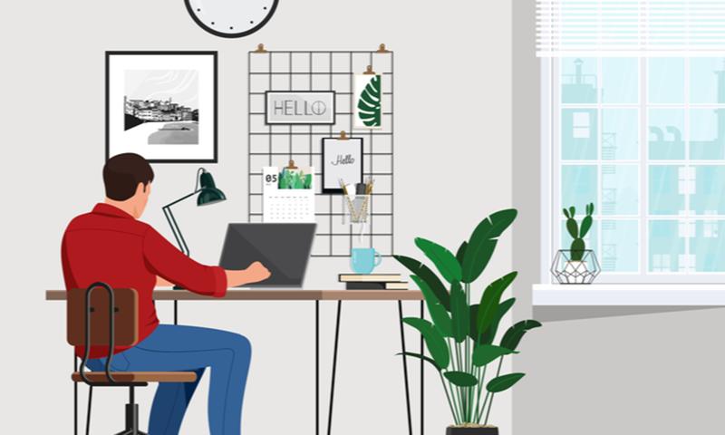 ورک فرام ہوم میں دفتر والی سہولیات میسر نہیں ہوتیں جس سے کام مشکل ہوجاتا ہے