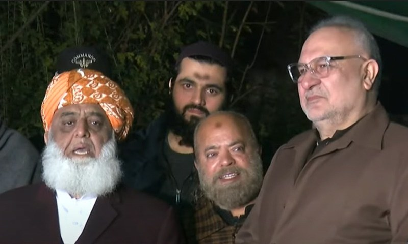 حکومت کے ساتھ مذاکرات کرنا عوام کو مایوسی کی طرف دھکیلنا ہے، مولانا فضل الرحمٰن