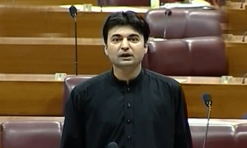 Communication Minister Murad Saeed took exception to the remarks made by PML-N Senator Javed Abbasi saying he was threatening that the PML-N would act against the PTI leadership if the former came to power. — DawnNewsTV/File
