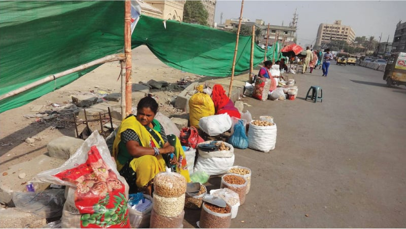 Displaced vendors | Photos courtesy the writer