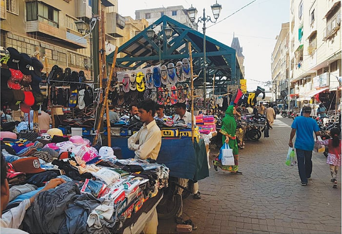Approximately 4,000 hawkers were removed from the Empress Market during the demolition