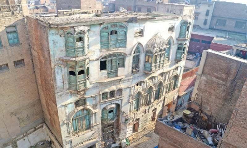 Raj Kapoor Haveli, Peshawar. — White Star