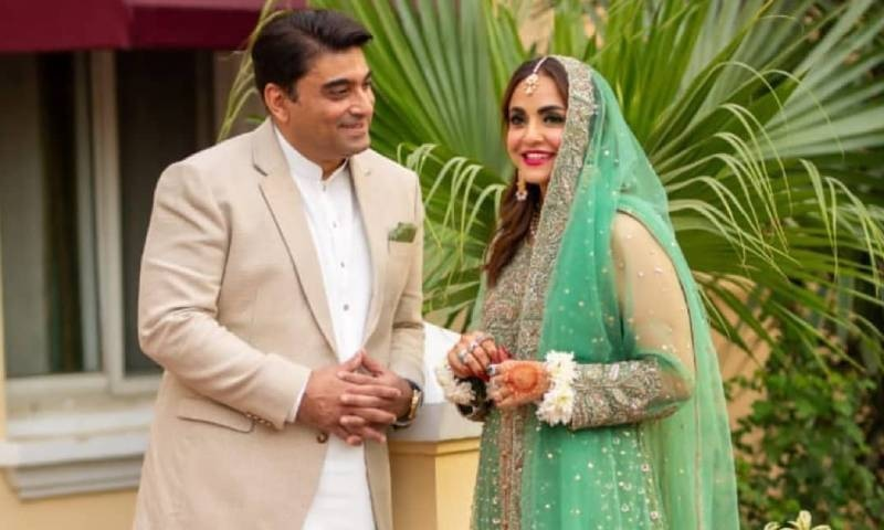نادیہ خان اور فیصل ممتاز نے شادی کی تصویر 2 جنوری 2021 کی تھی—فوٹو: انسٹاگرام