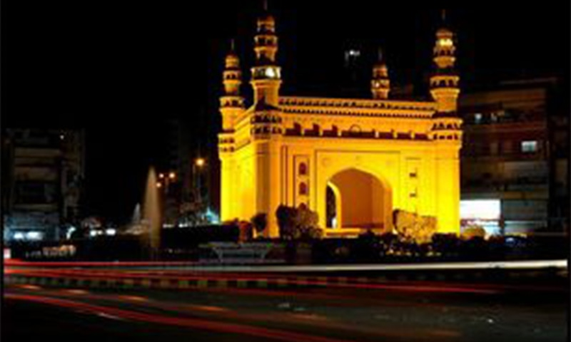 بہادر آباد میں حیدر آباد (دکن) کے مشہور زمانہ 'چار مینار' کی شاہکار 'شبیہہ' موجود ہے