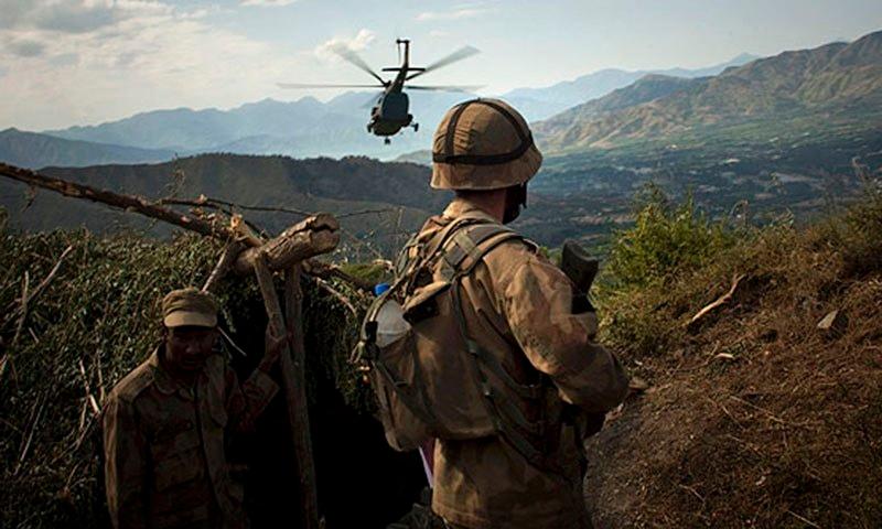 افغانستان سے دہشت گردوں کی چیک پوسٹ پر فائرنگ، ایف سی اہلکار شہید