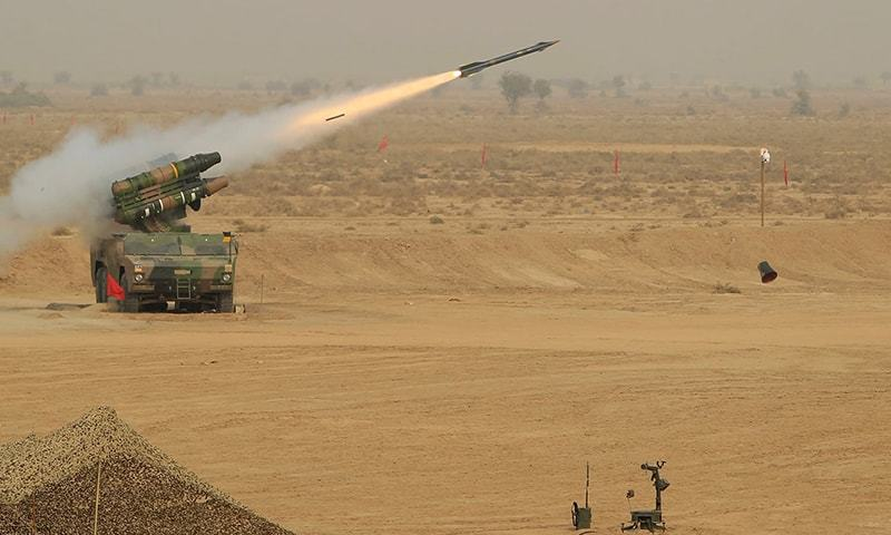 The guided MLRS was primarily developed to hit targets without leaving behind the unexploded ordnance. —Reuters/File