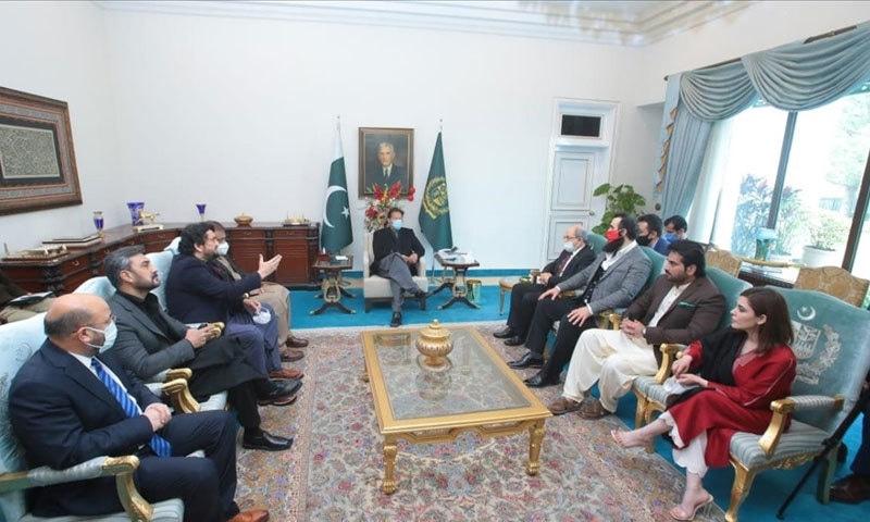 ترک وفد نے وزیر اعظم پاکستان سے بھی ملاقات کی تھی—فوٹو: وزیر اعظم دفتر