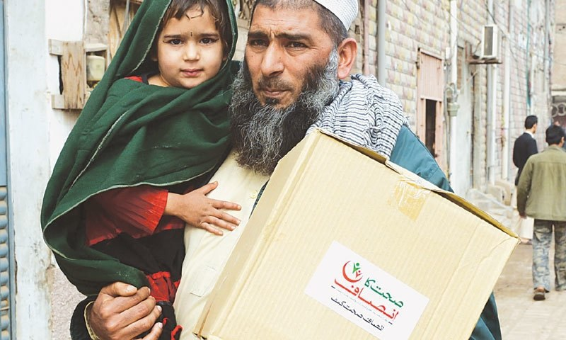 The number of the people benefitting from the Khyber Pakhtunkhwa government's Sehat Sahulat Programme has increased threefold in Malakand (Zone I) and Hazara (Zone II) divisions since the launch of the free healthcare initiative there in last Nov and Dec, respectively. — Dawn/File
