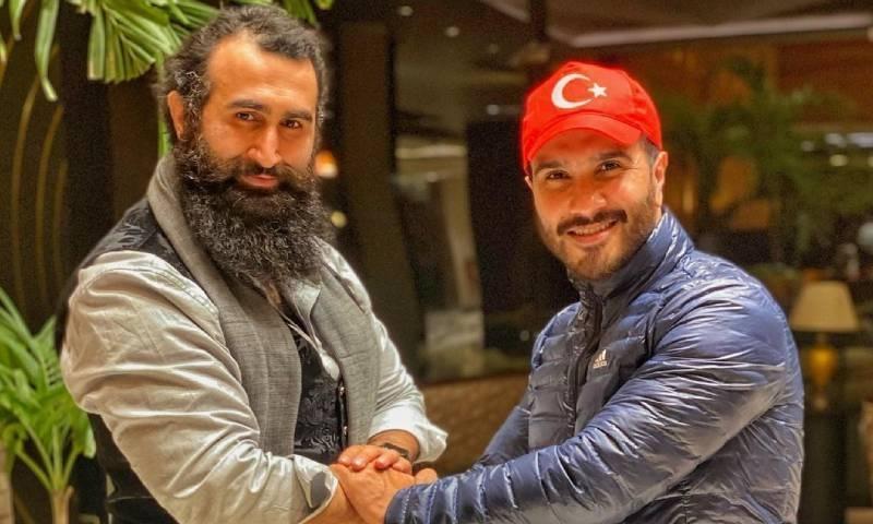 فیروز خان کی ترک اداکار جلال آل سے ملاقات