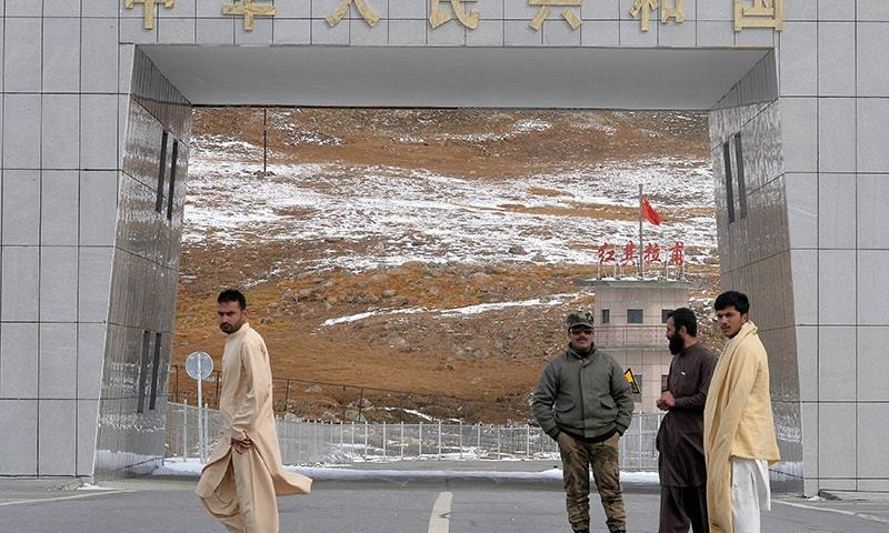 Hundreds of people affiliated with the Pakistan-China border trade face economic hardship following suspension of trade and travel between the two countries through the Khunjerab pass. — AFP/File