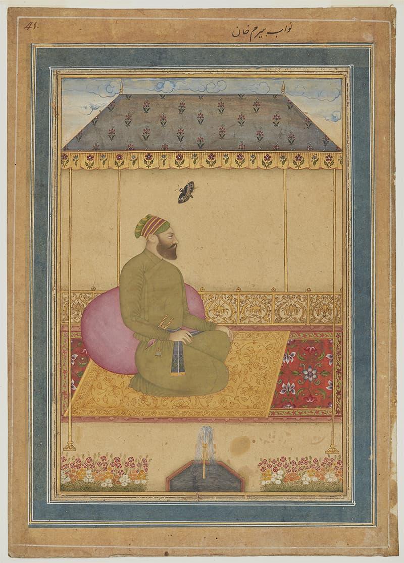 بیرم خان، تصویر بشکریہ آغاخان میوزیم