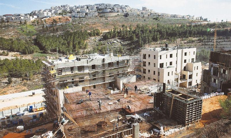 اسرائیل کی مقبوضہ مغربی کنارے میں 800 گھر تعمیر کرنے کی منظوری
