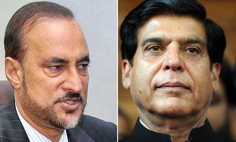 The Islamabad High Court rejected a reference against Prime Minister Imran Khan's adviser Dr Babar Awan (left) and former premier Raja Pervez Ashraf. — Photos Dawn Archives