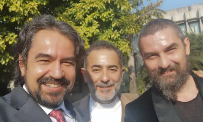 ارطغرل غازی کے کرداروں 'بامسی' اور 'ارتک' کی پاکستان آمد