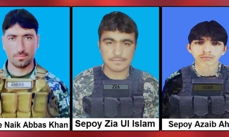 شمالی وزیرستان میں آپریشن، ایل او سی پر فائرنگ سے 4 فوجی جوان شہید