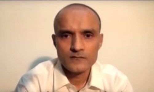 Jadhav — a serving commander of the Indian Navy associated with Indian spy agency Research and Analysis Wing — was arrested on March 3, 2016, from Balochistan on allegations of espionage and terrorism. — INP/File