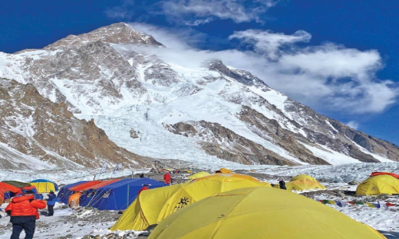 The Nepali Sherpas have reached the highest point any climber has on K2 during winters. The Seven Summits' team plans to reach the top on Saturday.