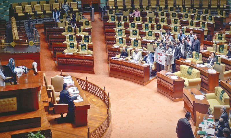 The Sindh Assembly on Friday unanimously passed the Control of Narcotic Substances (Sindh Amendment) Bill, 2021. — White Star/File