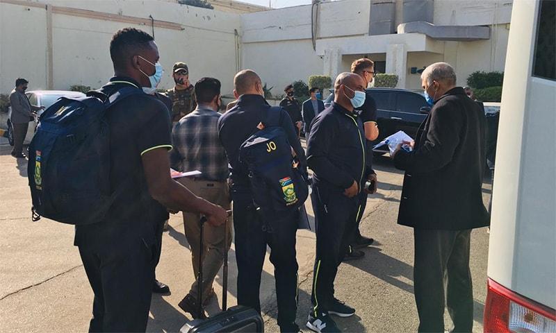 جنوبی افریقہ کی کرکٹ ٹیم کی 14 سال بعد پاکستان آمد