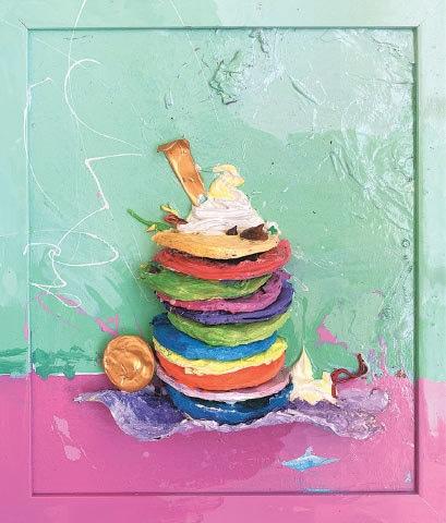 Rainbow Pancakes (2020), Maryam Arslan