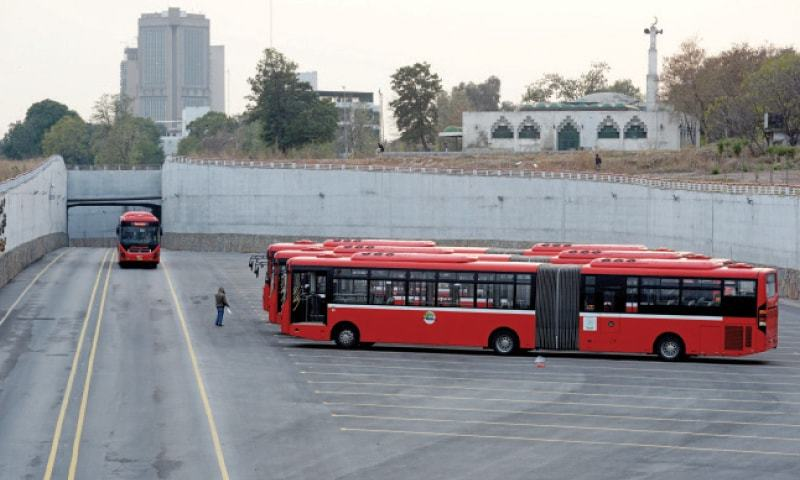 The Capital Development Authority (CDA) has requested National Highway Authority (NHA) to get the remaining work on the metro track from Peshawar Mor to Islamabad International Airport (IIA) completed before handing it over to the civic agency. — File photo
