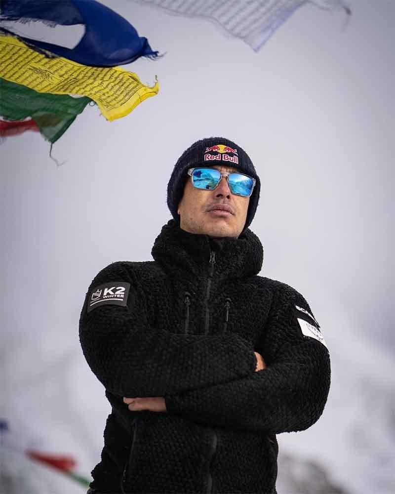 نیپالی کوہ پیما ٹیم کے سربراہ نرمل پرجا— تصویر: نرمل پرجا فیس بک پیج