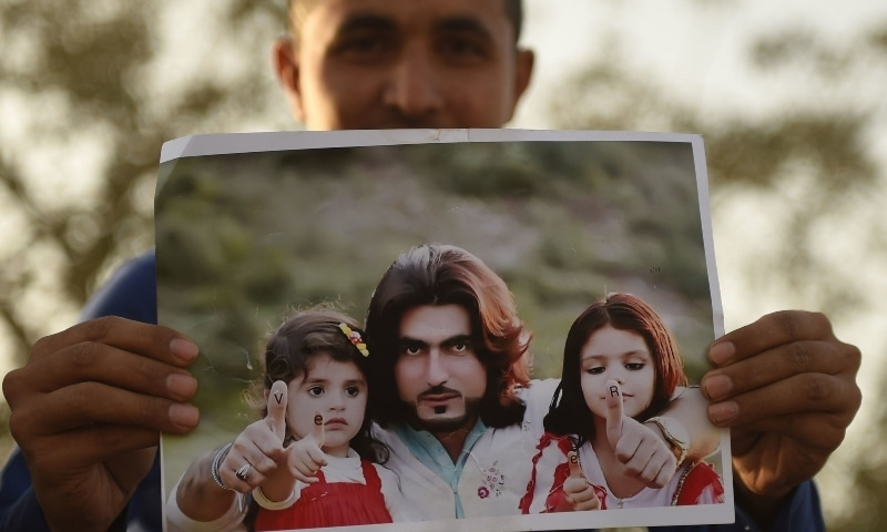 Naqeebullah Mehsud was killed in a fake encounter by police in Karachi on January 13, 2018. — AFP/File