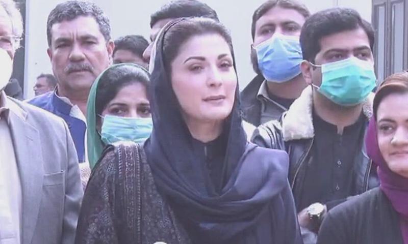 تحریک عدم اعتماد کا فیصلہ پی ڈی ایم کرے گی، مریم نواز