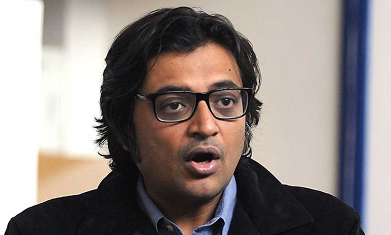Arnab Goswami, who is at the centre of allegations related to the ratings scam. — AFP/File